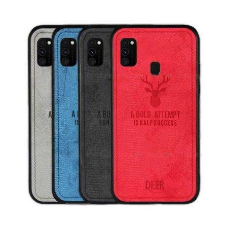 خرید قاب گوشی سامسونگ Galaxy M30s پارچه ای طرح گوزن