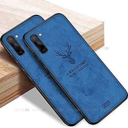 خرید قاب گوشی سامسونگ Galaxy Note 10 پارچه ای طرح گوزن