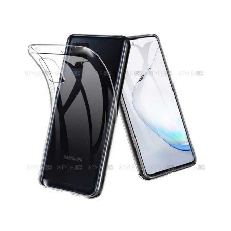 خرید قاب گوشی سامسونگ Galaxy Note 10 Lite / A81 مدل ژله ای شفاف