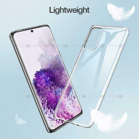 خرید قاب گوشی سامسونگ Galaxy S20 5G مدل ژله ای شفاف