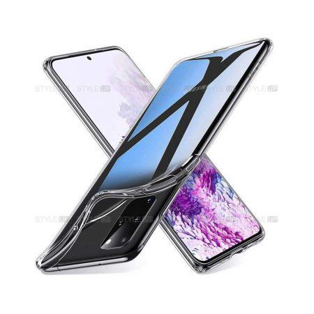 خرید قاب گوشی سامسونگ Galaxy S20 Plus 5G مدل ژله ای شفاف