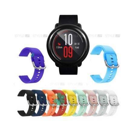 خرید بند ساعت شیائومی Xioami Amazfit Pace مدل سیلیکونی نرم