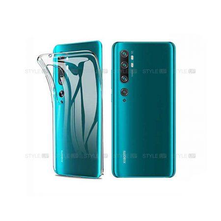 خرید قاب گوشی شیائومی Xiaomi Mi Note 10 Pro مدل ژله ای شفاف