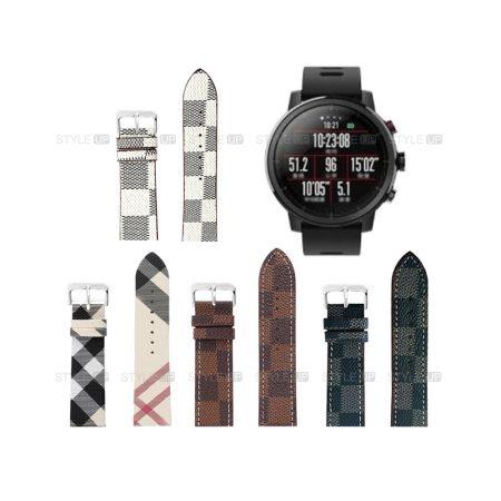 خرید بند ساعت شیائومی Xiaomi Amazfit Stratos طرح لویی ویتونخرید بند ساعت شیائومی Xiaomi Amazfit Stratos طرح لویی ویتون