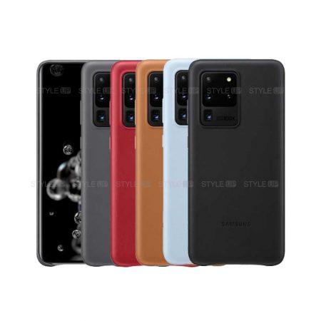 خرید کاور چرمی سامسونگ Samsung Leather Cover Galaxy S20 Ultra / 5G
