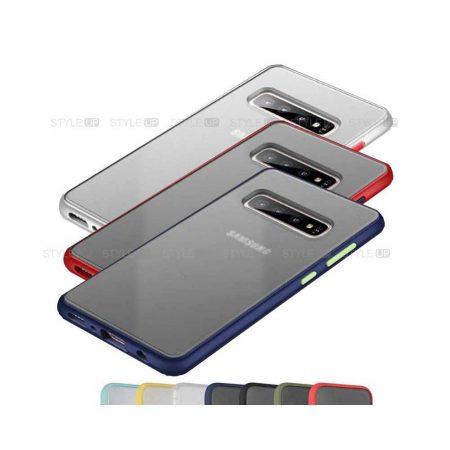 خرید کاور محافظ گوشی سامسونگ Galaxy S10 Plus مدل پشت مات