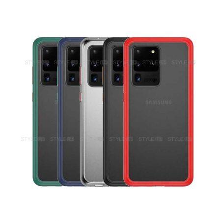 خرید کاور محافظ گوشی سامسونگ Galaxy S20 Ultra / 5G مدل پشت مات