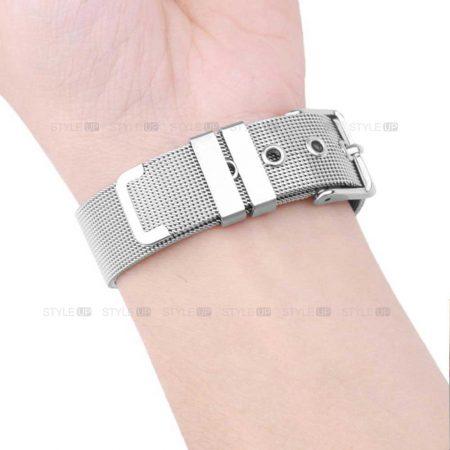 خرید بند ساعت شیائومی Xiaomi Amazfit Pace مدل حصیری Mesh Steel