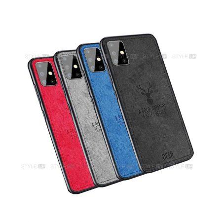 خرید قاب گوشی سامسونگ Samsung Galaxy A51 پارچه ای طرح گوزن