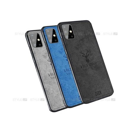 خرید قاب گوشی سامسونگ Samsung Galaxy A71 پارچه ای طرح گوزن