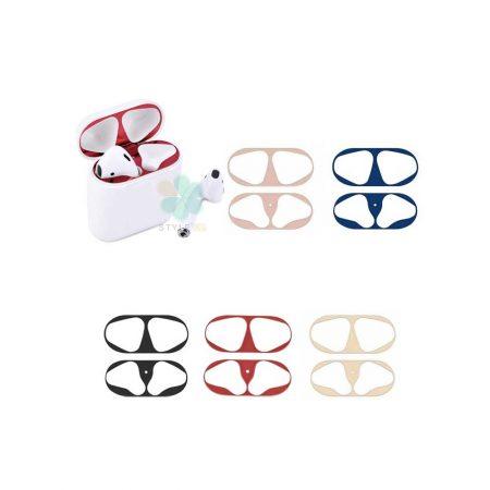 خرید برچسب محافظ ضد گرد و غبار هندزفری ایرپاد Apple Airpods