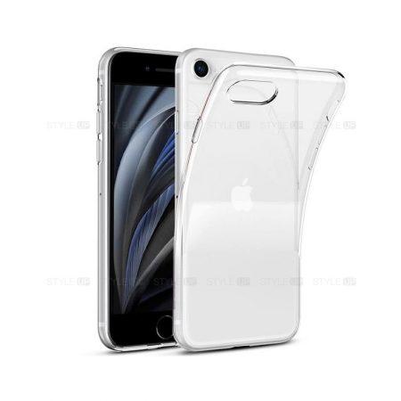 خرید قاب گوشی اپل آیفون iPhone SE 2020 مدل ژله ای شفاف