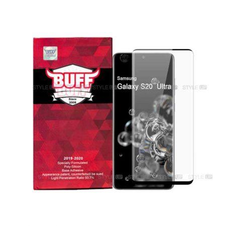 خرید محافظ صفحه گلس گوشی سامسونگ Galaxy S20 Ultra مدل Buff 5D