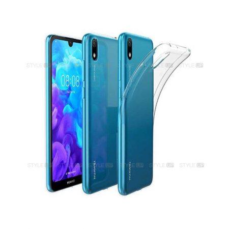 خرید قاب گوشی هواوی Huawei Y5 2019 مدل ژله ای شفاف
