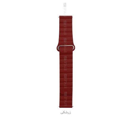 خرید بند چرمی ساعت شیائومی Xiaomi Amazfit GTS مدل Leather Loop