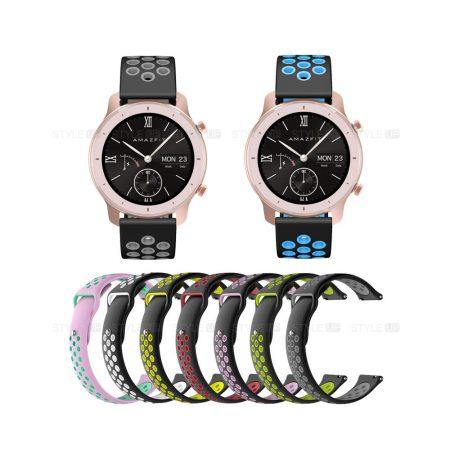 خرید بند ساعت شیائومی Amazfit GTR 42mm سیلیکونی نایکی
