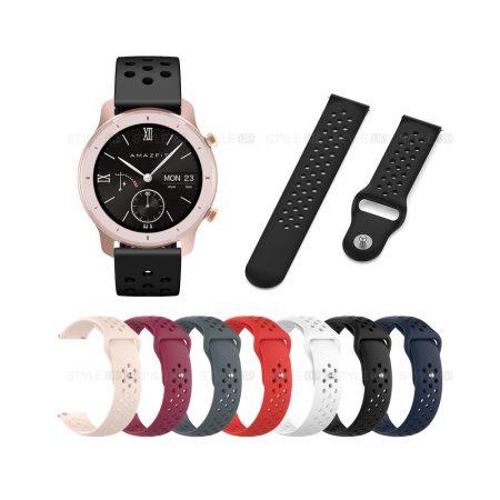 خرید بند ساعت هوشمند شیائومی Xiaomi Amazfit GTR 42mm مدل Nike