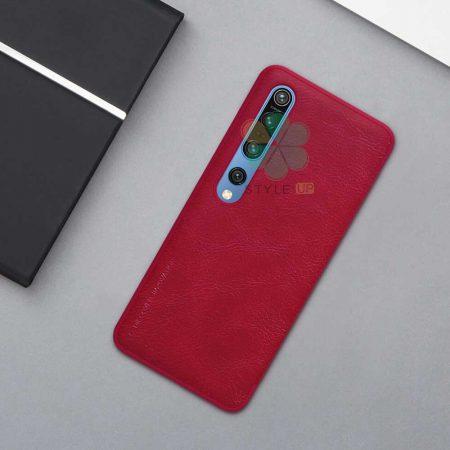 حرید کیف چرمی نیلکین گوشی شیائومی Xiaomi Mi 10 Pro 5G مدل Qin