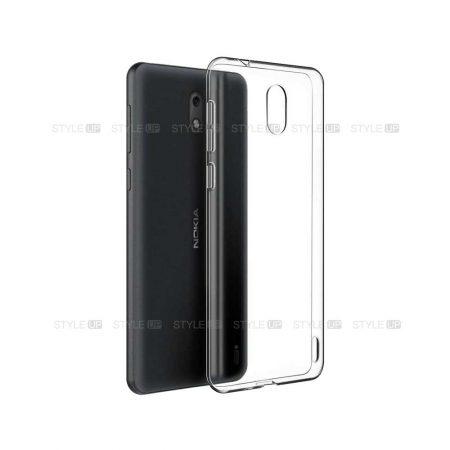 خرید قاب گوشی نوکیا Nokia 1 Plus مدل ژله ای شفاف