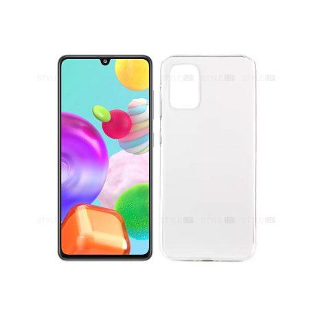 خرید قاب گوشی سامسونگ Samsung Galaxy A41 مدل ژله ای شفاف