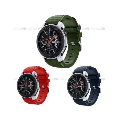 خرید بند اورجینال ساعت سامسونگ Galaxy Watch 46mm مدل Active Silicone