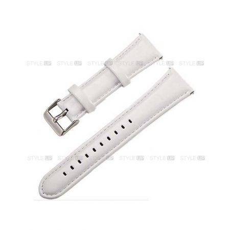 خرید بند چرمی ساعت سامسونگ Galaxy Watch Active 2 مدل براق