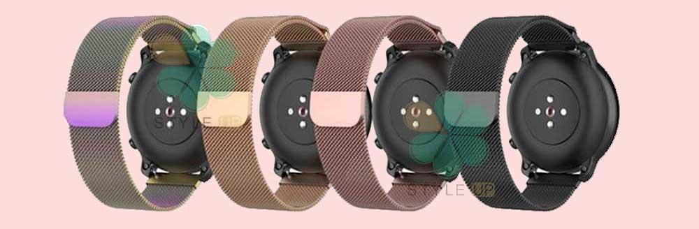 خرید بند استیل ساعت شیائومی Amazfit GTR 42mm مدل New Milanese