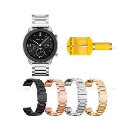 خرید بند ساعت شیائومی Xiaomi Amazfit GTR 42mm استیل 3Pointers