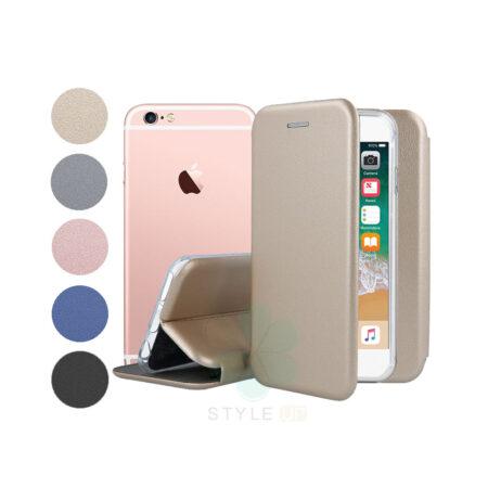 خرید کیف کلاسوری چرمی گوشی آیفون Apple iPhone 6 / 6s