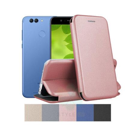 خرید کیف کلاسوری چرمی گوشی هواوی Huawei Nova 2 Plus