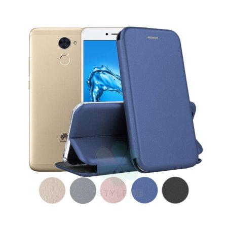 خرید کیف کلاسوری چرمی گوشی هواوی Huawei Y7 Prime