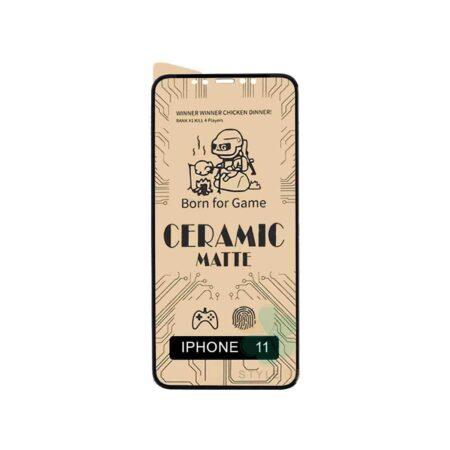 خرید گلس سرامیکی مات گوشی اپل آیفون 11 - Apple iPhone 11
