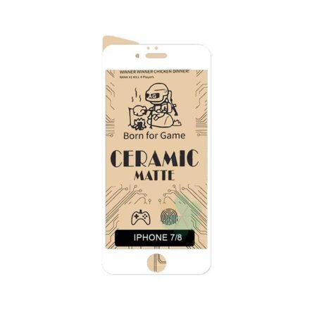 خرید گلس سرامیکی مات گوشی اپل آیفون Apple iPhone 7 / 8