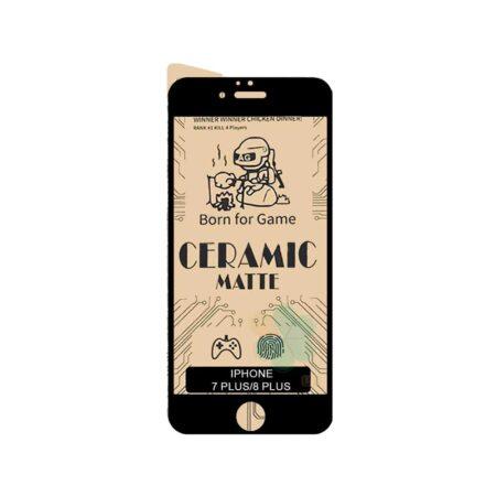 حرید گلس سرامیکی مات گوشی آیفون Apple iPhone 7 Plus / 8 Plus