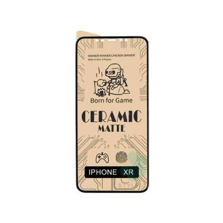 خرید گلس سرامیکی مات گوشی موبایل آیفون Apple iPhone XR