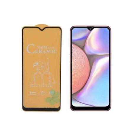 خرید گلس سرامیکی مات گوشی سامسونگ Samsung Galaxy A10s