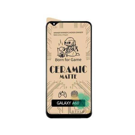 خرید گلس سرامیکی مات گوشی سامسونگ Samsung Galaxy A60