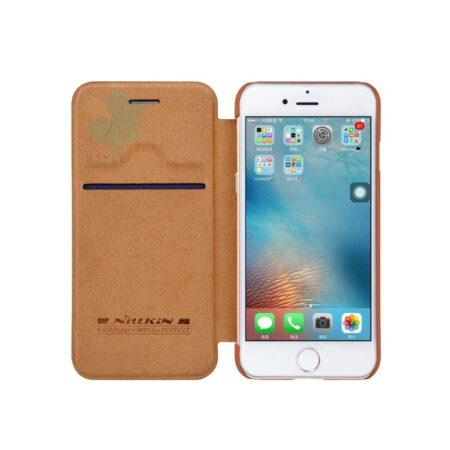 خرید کیف چرمی نیلکین گوشی موبایل ایفون Apple iPhone SE 2020 مدل Qin