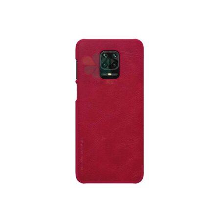 خرید کیف چرمی نیلکین گوشی شیائومی Redmi Note 9 Pro Max مدل Qin