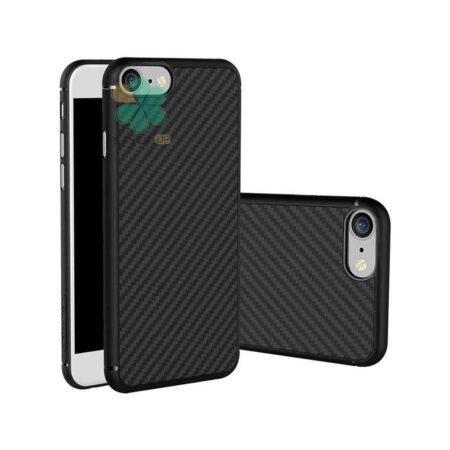 خرید کاور نیلکین گوشی ایفون iPhone SE 2020 مدل Synthetic Fiber