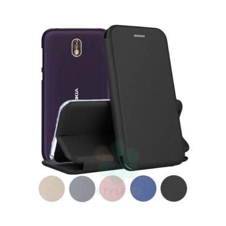 خرید کیف کلاسوری چرمی گوشی نوکیا 1 - Nokia 1