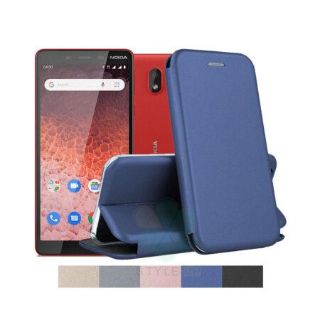خرید کیف کلاسوری چرمی گوشی نوکیا 1 پلاس - Nokia 1 Plus