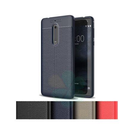 خرید کاور ژله ای گوشی نوکیا 5 - Nokia 5 مدل اتوفوکوس