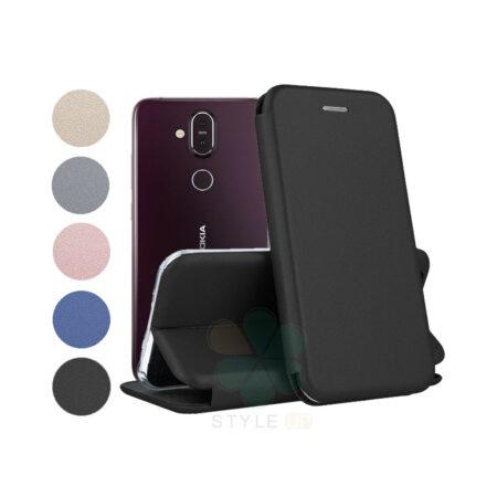 خرید کیف کلاسوری چرمی گوشی نوکیا Nokia 8.1 / X7