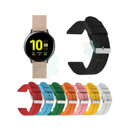 خرید بند ساعت سامسونگ Samsung Galaxy Watch Active 2 مدل پارچه ای