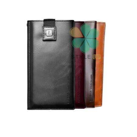 خرید کیف چرمی پول و گوشی موبایل لاکچری مدل Puloka سایز 4.7 اینچ
