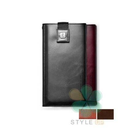 خرید کیف چرمی پول و گوشی موبایل لاکچری مدل Puloka سایز 5.5 اینچ