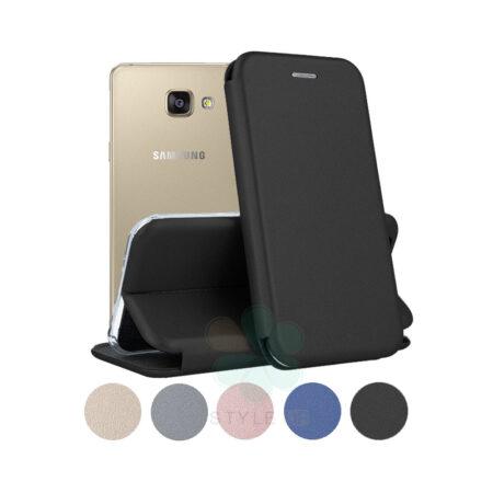 خرید کیف کلاسوری چرمی گوشی سامسونگ Samsung Galaxy A5 2016
