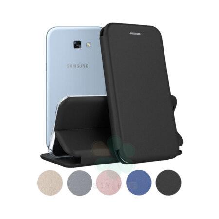 خرید کیف کلاسوری چرمی گوشی سامسونگ Samsung Galaxy A7 2017