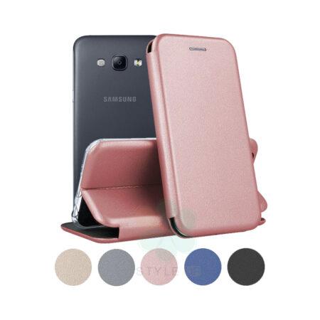 خرید کیف کلاسوری چرمی گوشی سامسونگ Samsung Galaxy A8
